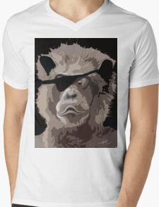 CAPT.BEARLY Mens V-Neck T-Shirt