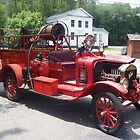 1919 Ford Model T Fire Truck by Ryan Eberhart