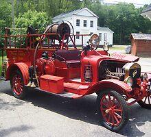 1919 Ford Model T Fire Truck by Ryan Eberhart