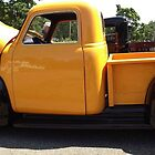 Yellow Chevy Pickup by Ryan Eberhart