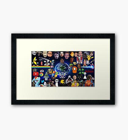 """Lolternet"" Framed Print"