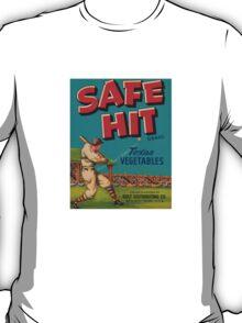 Vintage safe hit Sports T-Shirt