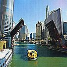 CHICAGO RIVER SCENE by Terry Collett