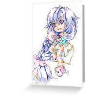 Chibi Plutia Greeting Card