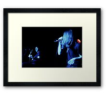 Randy & Ronnie Winter - Red Jumpsuit Apparatus Framed Print