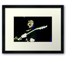 Randy Winter - Red Jumpsuit Apparatus Framed Print