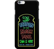 Dragon of the Black Pool, the Best in Little China iPhone Case/Skin