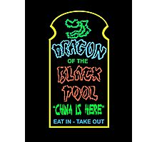 Dragon of the Black Pool, the Best in Little China Photographic Print