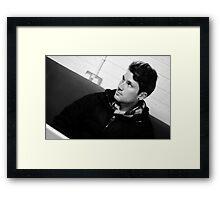 John Hartman - Red Jumpsuit Apparatus Framed Print