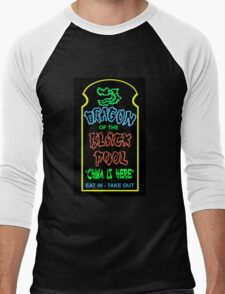 Dragon of the Black Pool, the Best in Little China Men's Baseball ¾ T-Shirt