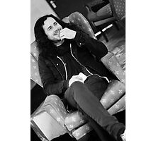 Jesse Carrol - Manager of Red Jumpsuit Apparatus Photographic Print