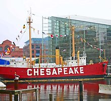 LIghtship Chesapeake by Jack Ryan