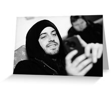 Joey Westwood - Red Jumpsuit Apparatus Greeting Card