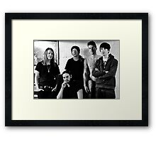 Red Jumpsuit Apparatus Framed Print