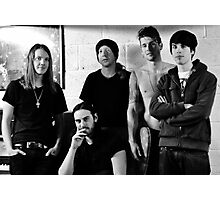 Red Jumpsuit Apparatus Photographic Print