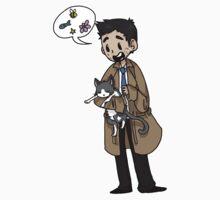 Supernatural-Castiel by artistic-artist