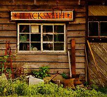 Blacksmith Shop by PineSinger