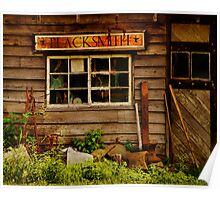 Blacksmith Shop Poster