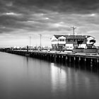 Port Melbourne - Princes Pier by Christine  Wilson Photography
