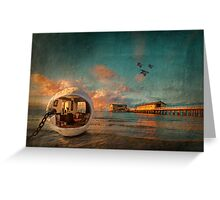 Buoy, what a view! Greeting Card