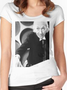 William Hartnell Women's Fitted Scoop T-Shirt