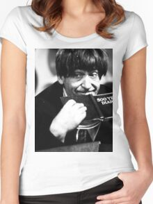 Patrick Troughton Women's Fitted Scoop T-Shirt