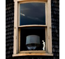 Window Decadence - Rural America  Photographic Print