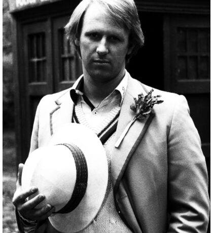 Peter Davison Sticker