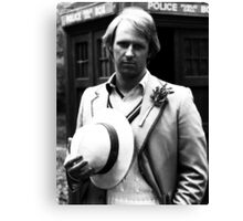 Peter Davison Canvas Print