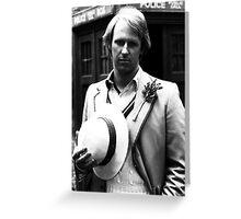Peter Davison Greeting Card