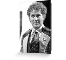 Colin Baker Greeting Card