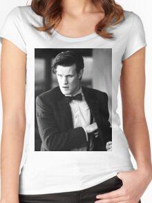 Matt Smith Women's Fitted Scoop T-Shirt