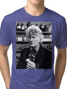 Jon Pertwee Tri-blend T-Shirt