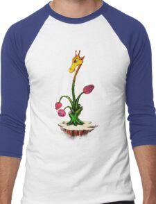 Giraffodile Men's Baseball ¾ T-Shirt
