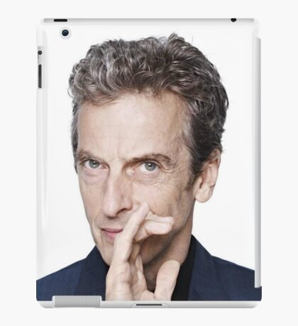 Doctor Who - Peter Capaldi Twelveth Doctor iPad Case/Skin