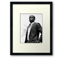 Burton Guster Framed Print