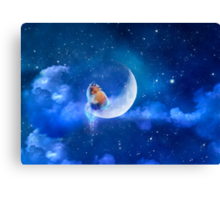 Moonfox Canvas Print