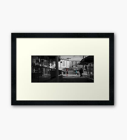 ...In Fair Bristol Where We Lay Our Scene Framed Print