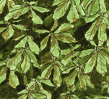 Chesnut leave pattern by CClaesonDesign
