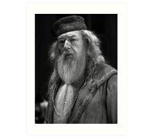Professor Dumbledore Art Print