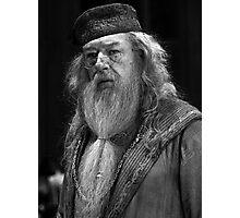 Professor Dumbledore Photographic Print