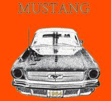 1964 Mustang Kids Tee