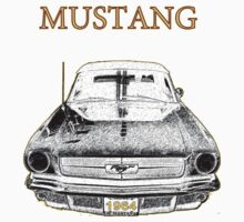 1964 Mustang One Piece - Long Sleeve