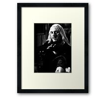 Lucius Malfoy Framed Print