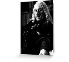Lucius Malfoy Greeting Card