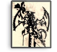 Epic Dragon Destruction Design Metal Print