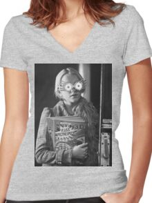 Luna Lovegood  Women's Fitted V-Neck T-Shirt
