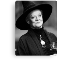 Professor McGonagall Canvas Print