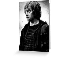 Ron Weasley  Greeting Card