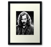 Sirius Black Framed Print